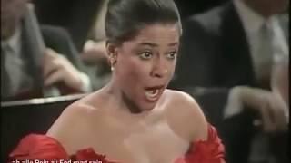 Kathleen Battle live in Wien- Frühlingsstimmen Deutsch/English/Português lyrics