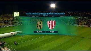 Fútbol en vivo. Olimpo - Unión. Fecha 23 de Torneo de Primera División 2015. FPT.