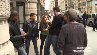 Billy on the Street: Lesbian Lightning Round!