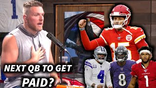 Who Will Be The Next QB To Get A MONSTER Contract Like Mahomes?