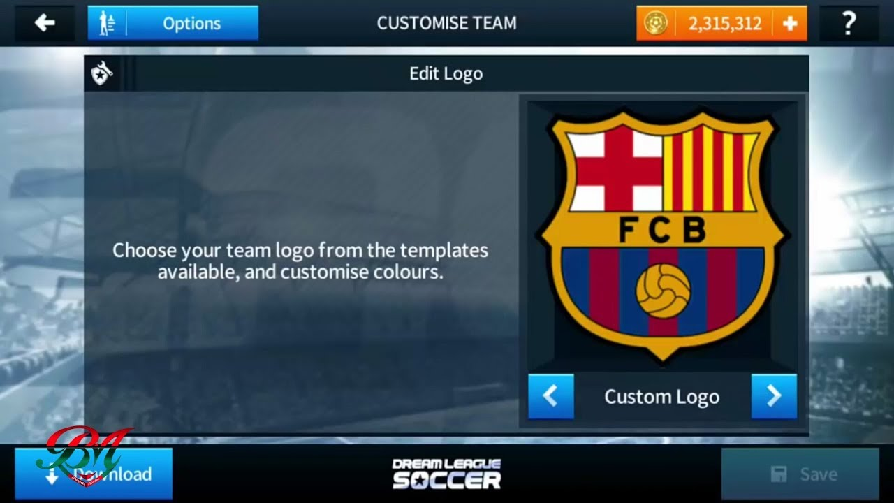 official photos 9263b 318fb How To Import Fc Barcelona Logo And Kits In Dream League Soccer 2018