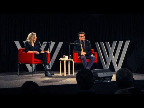 Hisham Matar with Hilary Harper