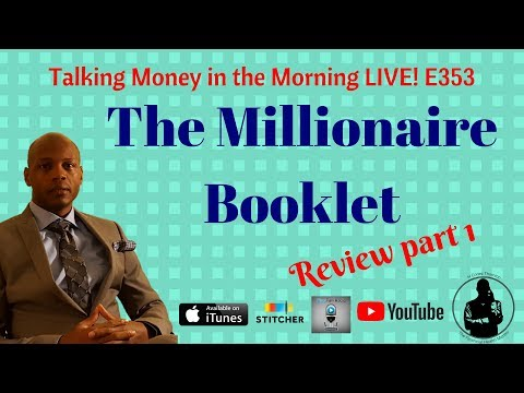 Review: The Millionaire Booklet by Grant Cardone, my Thoughts part 1