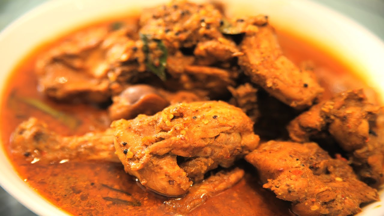Chicken Vindaloo By Shakti - YouTube