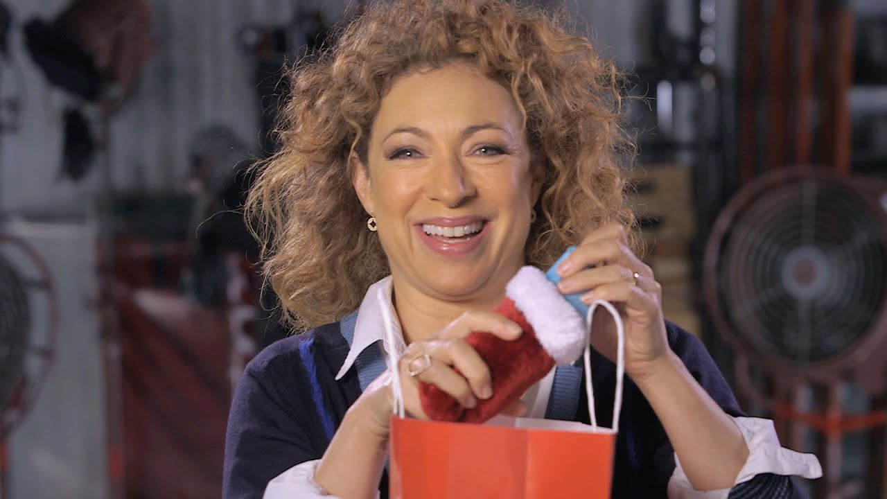 Christmas presents galore! - The Husbands of River Song - Doctor ...