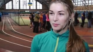 Легкая атлетика.Старт  зимнего сезона 2016-2017 в Днепре. sport