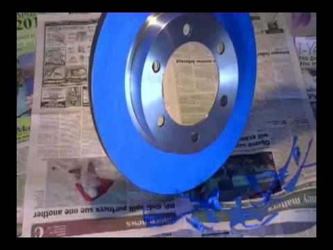 Painting Brake Rotors Youtube