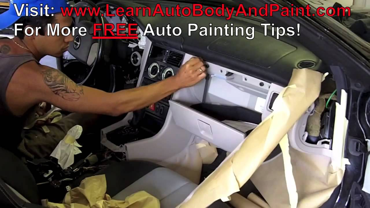 painting car interior