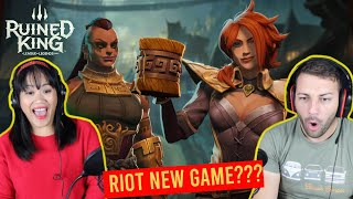 RIOT'S NEW GAME? Ruined King: A League of Legends Story REACTION | Announcement Trailer