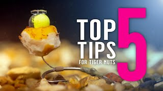TOP 5 TIGER NUT TIPS For Catching More Carp! (Including 2 Carp Rigs) Mainline Baits Carp Fishing TV