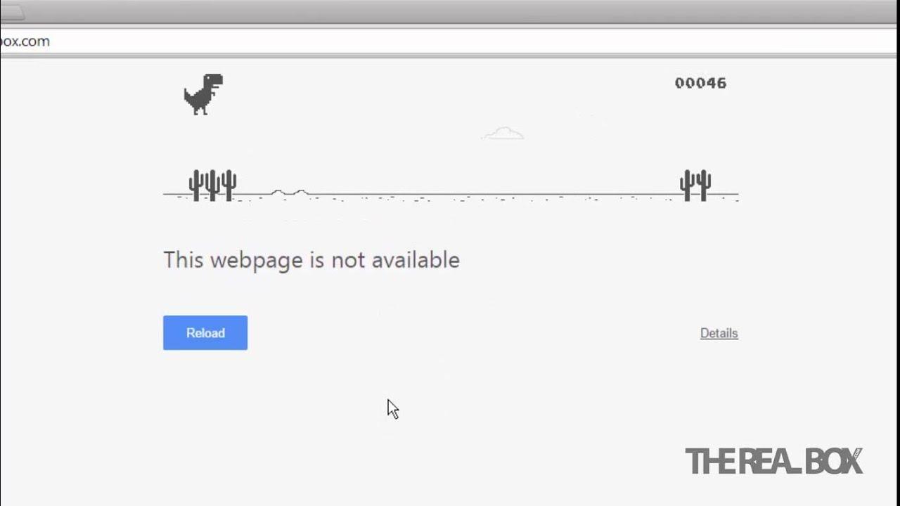 New Chrome Dinosaur Game - Enjoy without internet - YouTube