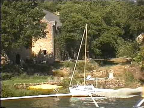 French Riverside Property with own jetty and quay on the River Vilaine Brittany France 2006