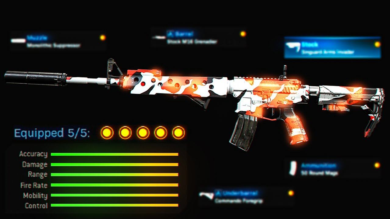 NO RECOIL! BEST M4A1 Class Setup in Modern Warfare! (Modern Warfare Warzone)