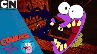 Courage the Cowardly Dog | The Evil Shadow Monster | Cartoon Network