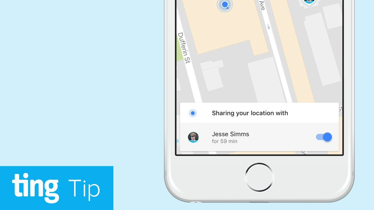 Share your location through Google Maps (Android and iOS) | Ting Tip