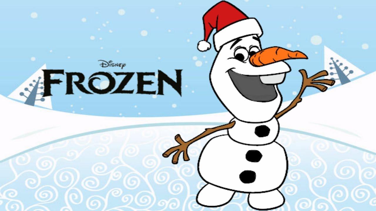 Disney Frozen Completo Portugues Desenho Olaf Papai Noel Natal