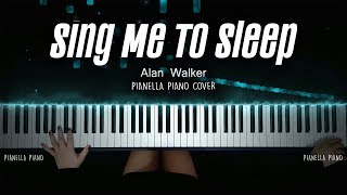 Alan Walker - Sing Me To Sleep (PIANO COVER by Pianella Piano)