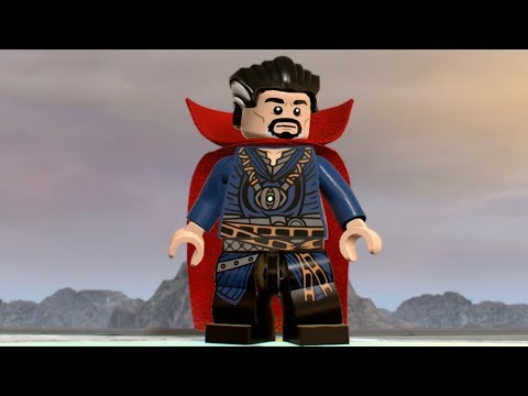 LEGO Marvel Super Heroes 2 - Doctor Strange - Open World Free Roam Gameplay (PC HD) [1080p60FPS]