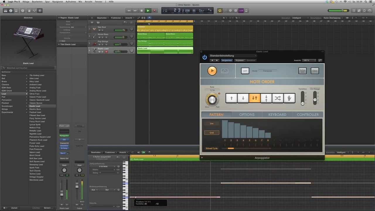 how to make beats using logic pro x