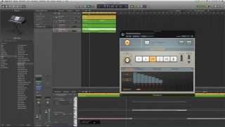 Logic Pro X Deutsch - In 8 Minuten einen Beat bauen ;-) Logic X Tutorial 6 - LogicX