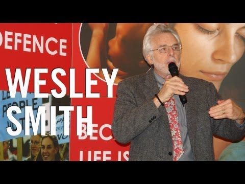 Ethics of stem cell research and human cloning : Wesley Smith : Dublin, 2009 (Part 1 of 2)