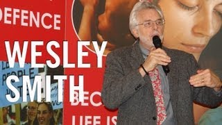 Wesley Smith : The ethics of stem cell research : Dublin, 2009 (Part 1 of 2)