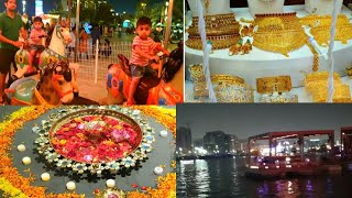 An Evening With Family || Dhanteras Shopping || Quality Time With Family || Dubai Al Seef Creek