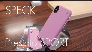 A Case Designed for Fitness? - Speck Presidio SPORT Edition - iPhone X - Hands on Review!