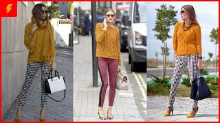 How to Wear Ocher Sweater for This Winter