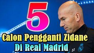 WAJIB TAHU!!! 5 Calon Pengganti Zinedine Zidane di Real Madrid