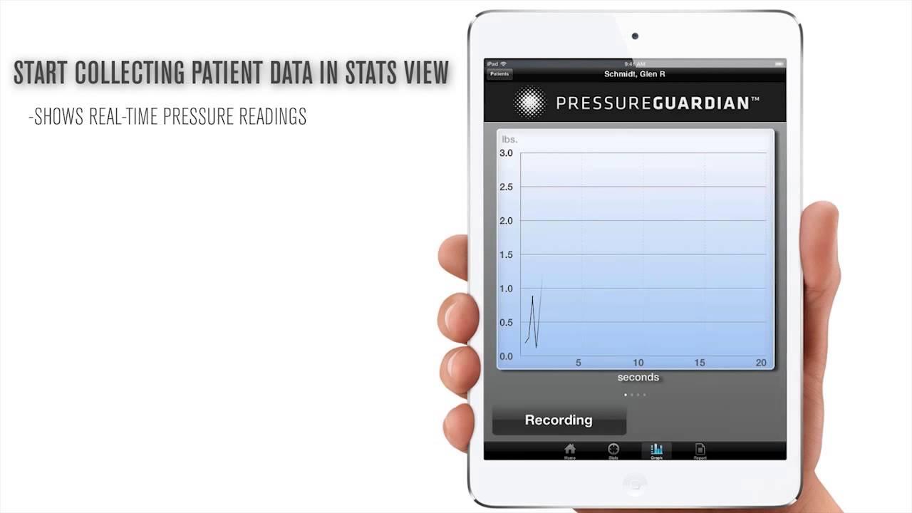 PressureGuardian App Demo