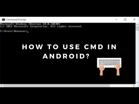 How to use and Run Command Prompt (CMD) in Any Android Mobile..📲💥
