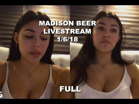 Madison Beer FULL Live Stream on YouNow (1/6/18)