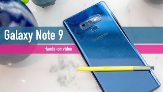 Samsung Galaxy Note 9 hands-on review