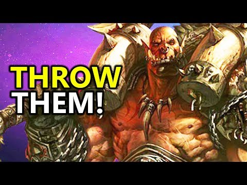 ♥ THROW THEM! GARROSH! - Heroes of the Storm (HotS)