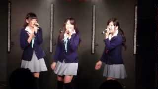 20121118(レギュラーライブ3部)長谷川寿里・佐藤彩未・鈴乃亜紗.