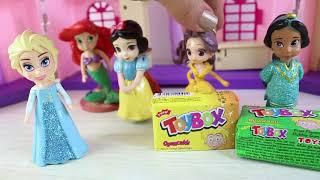 Prensesler Elsa Anna Toybox Sürprizleri Açıyor
