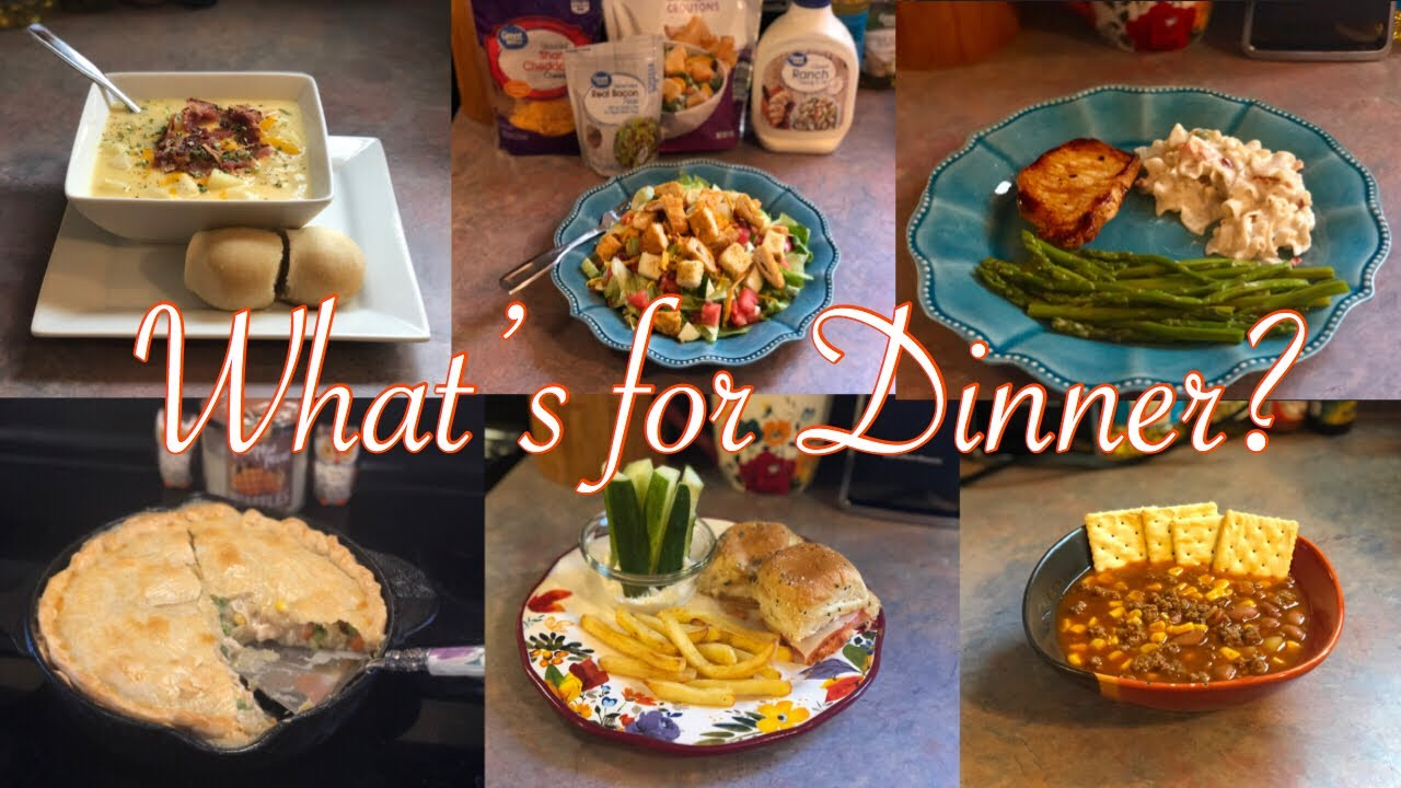 What S For Dinner Family Meal Ideas October 1 7 2018