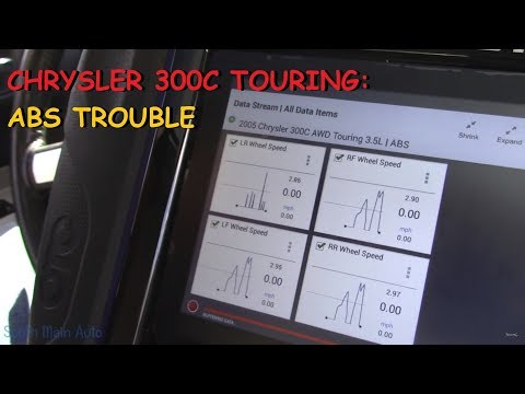 Chrysler 300C Touring: ABS Trouble