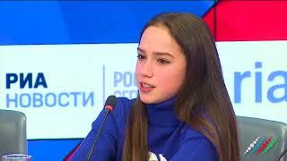 Олимпийская чемпионка Алина Загитова ответила на вопрос «Москва-Баку» об Азербайджане