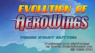 Graphical Evolution of AeroWings (1999-2003)