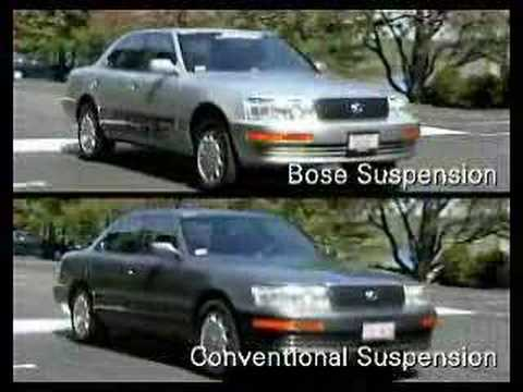 Bose active suspension