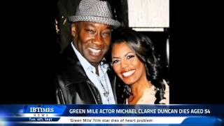 Green Mile Actor Michael Clarke Duncan Dies Aged 54