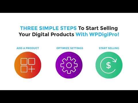 WPDigiPro Quick Demo