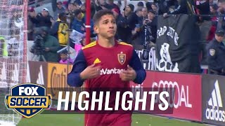 Real Salt Lake vs. D.C. United | MLS Highlights | FOX SOCCER