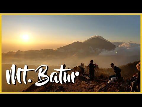 Sunrise Trek up Mt Batur (4k Drone Footage)