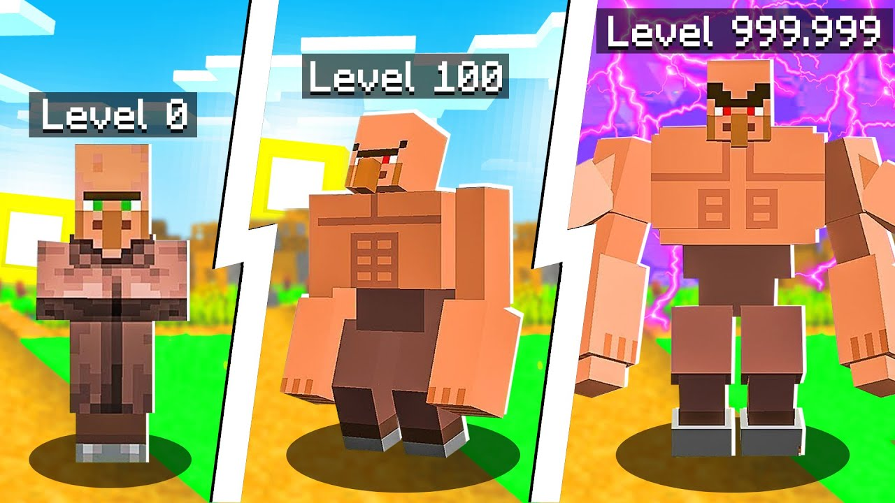 Minecraft, But You Can Upgrade Villagers