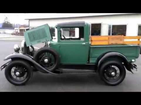1931 ford model a pickup youtube. Black Bedroom Furniture Sets. Home Design Ideas