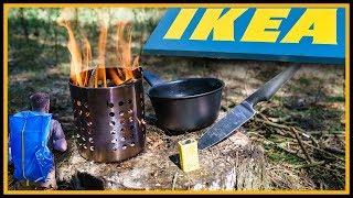 🏕️ Bushcraft Ausrüstung von IKEA 🔥 - Outdoor Bushcraft Gear Deutschland