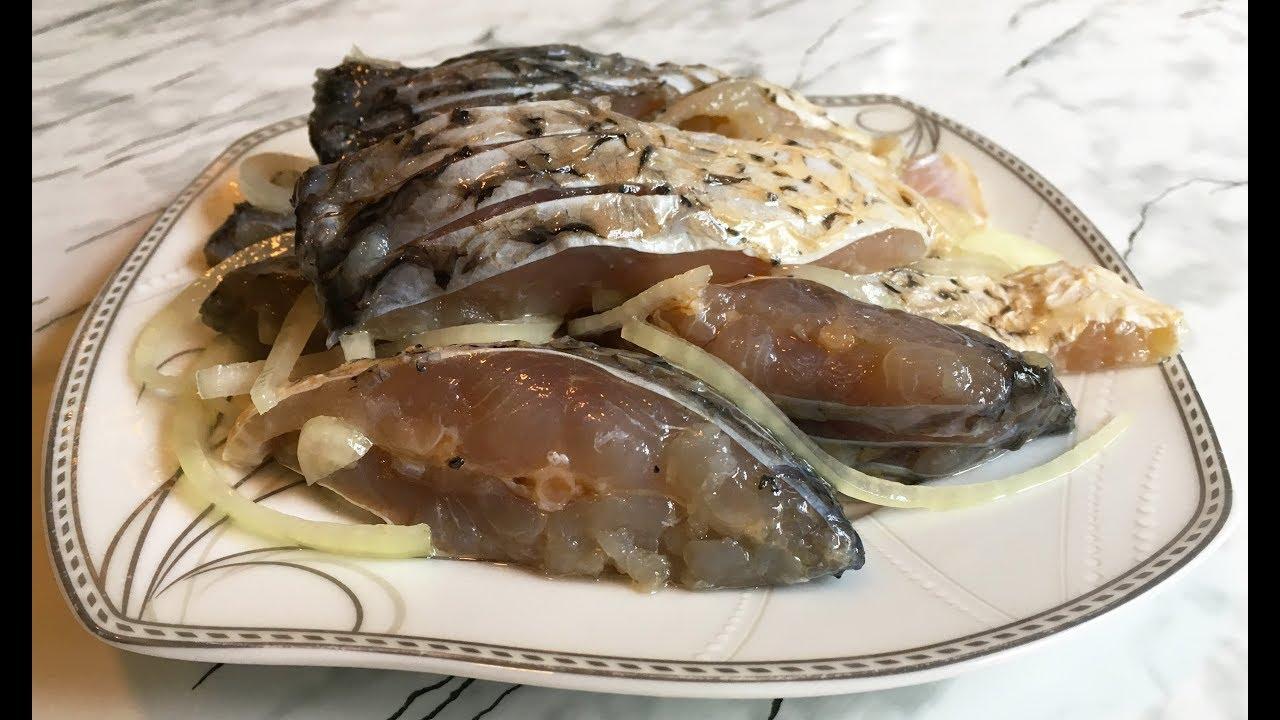Маринованный Карп / Pickled Carp / Маринованная Рыба / Рыбалка / Простой Рецепт Вкусной Закуски